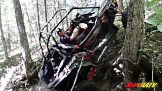 RZR XP1000 Gnarly Creek Bank Climb (SuperATV)