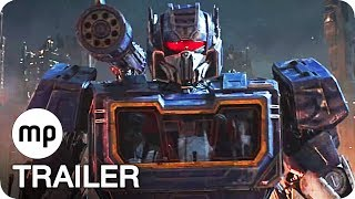 BUMBLEBEE Trailer 2 German Deutsch (2018) Transformers Film