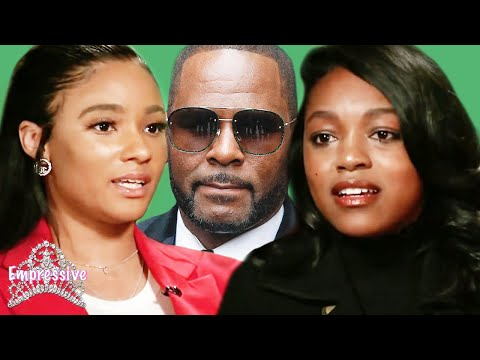R Kelly&39;s girlfriends clash  Azriel Clary exposes Joycelyn Savage and R Kelly