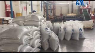 Instalación Peletizadora PE PP de 500 Kilos por hora Guayaquil Ecuador- Julio 2017