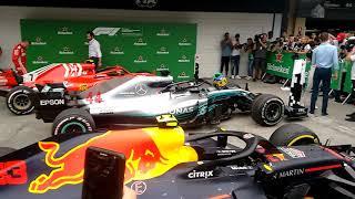 GP BRASIL F1/2018 - CHEGADA BOXES 2 (continuação)