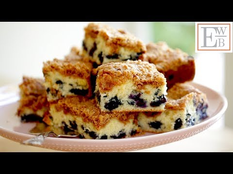 Beth's Blueberry Crumb Cake Recipe