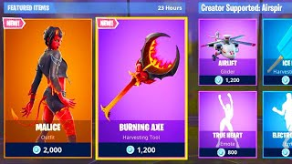 🔴NEW FORTNITE BOUTIQUE OF MARCH 22, 2019! SKIN SUCCUBE - INFERNAL HACHE (DIABOLIC ENSEMBLE)