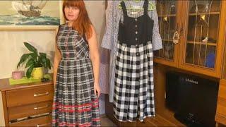 Винтажные платья из секонд хенда Австрийско баварский стиль