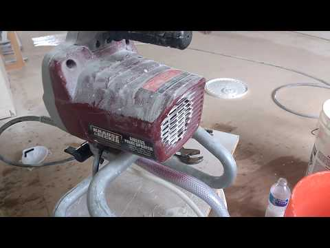 Quick and cheap fix for Harbor Freight airless paint sprayer