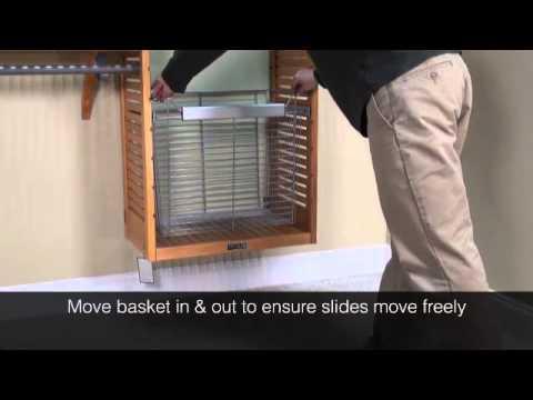 John Louis Home Wire Basket Installation