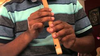 "Dhire dhire machal ai dile bekrar hindi song on flute - ""Travails with my flute"""