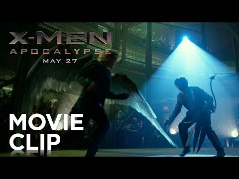 X-Men: Apocalypse | Cage Fight Clip [HD] | 20th Century FOX