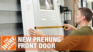 How to Measure F๐r a New Prehung Front Door | The Home Depot