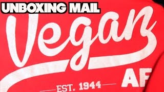 Unboxing Mail - Vegan Products & Apparel