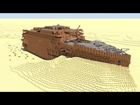 Minecraft RMS Titanic - Wreck