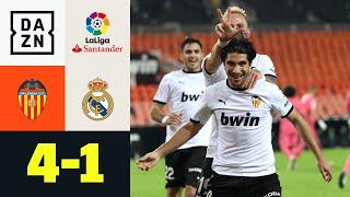 Solers Elfmeterparty demütigt die Königlichen! FC Valencia – Real Madrid 4:1 | LaLiga | DAZN