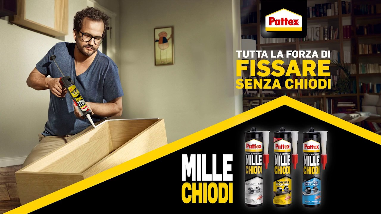 Pattex millechiodi youtube