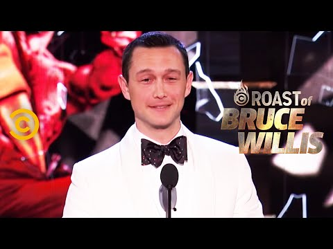 Joseph GordonLevitt on Playing a Young Bruce Willis  Roast of Bruce Willis  Uncensored