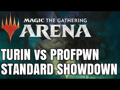Turin vs ProfPwn | Magic: The Gathering Arena - Standard Matches