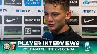 INTER 4-0 GENOA | ESPOSITO + GAGLIARDINI + SENSI EXCLUSIVE INTERVIEWS