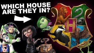 J vs Ben: Sorting Pixar Characters into Hogwarts Houses