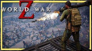 World War Z Gameplay Part 5   Zombie Horde Breaches The Dam (Full Game Walkthrough)