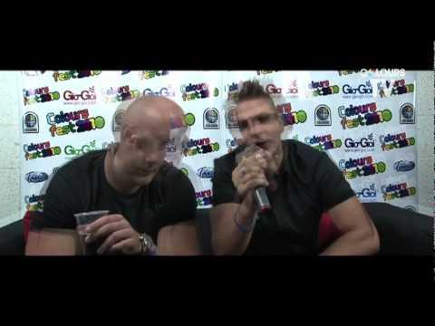 Showtek Coloursfest 2010 interview