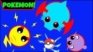 MOPE.IO POKEMONS | ALL POKEMON ANIMAL IDEAS | MOPE.IO NEW BIOME(Mope.io)