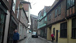 Historic Norwich : Elm Hill and its ghost