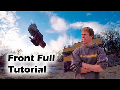 How to learn Front Full Twist in one training (Front Full Tutorial)