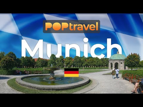 Walking in MUNICH / Germany 🇩🇪- Hofgarten to Hofbräuhaus - 4K 60fps (UHD)