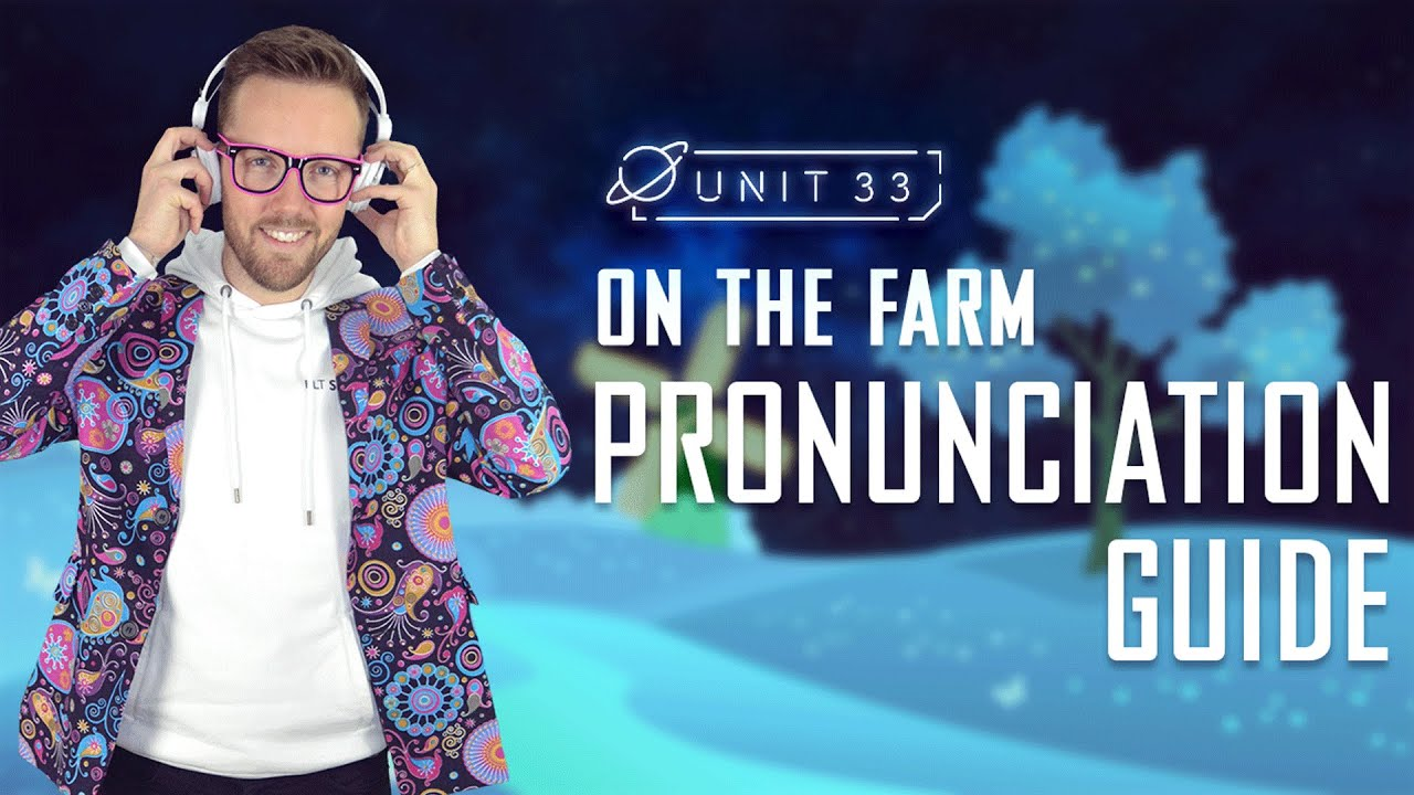 Learn how to pronounce these 6 farm animals in English  ESL Pronunciation  Guide for Kids