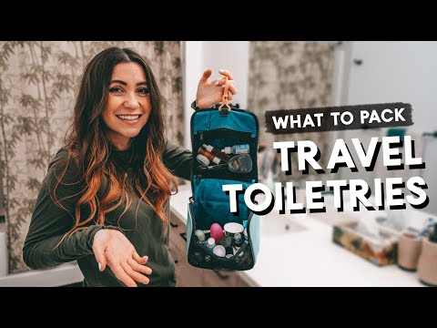 TRAVEL TOILETRIES - What To Pack | Hacks & Tips Travel Tips
