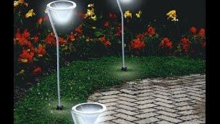 Дачные светильники - уличные, светодиодные светильники на солнечных батареях.(, 2015-07-27T09:41:38.000Z)
