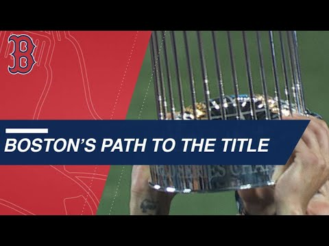 Boston's path to the 2018 World Series championship