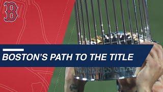 Boston's path to the 2018 World Series championship