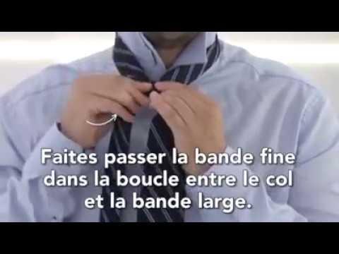 Comment faire un nœud de cravate simple 2017