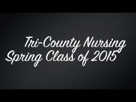 Tri County Technical College Nursing Spring Class of 2015 Pinning Ceremony