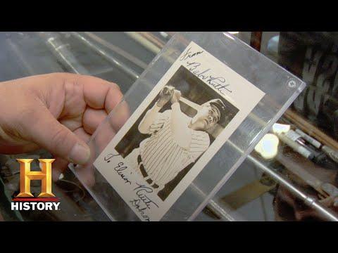 Pawn Stars: Babe Ruths Autograph Season 4  History
