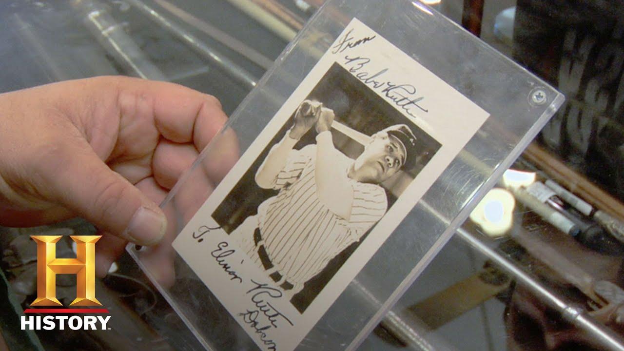 Pawn Stars Babe Ruths Autograph Season 4 History