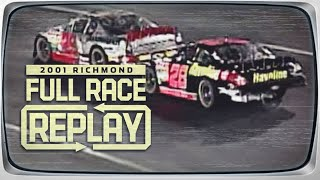 NASCAR Classic Full Race: Ricky Rudd-Kevin Harvick feud ignites after contact | Richmond Raceway