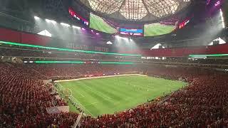 "Атмосфера на стадионе ""Атланты Юнайтед"""