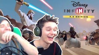 Lachflashs & Die Cantina Band - Disney Infinity 3.0 mit Pan | ungespielt