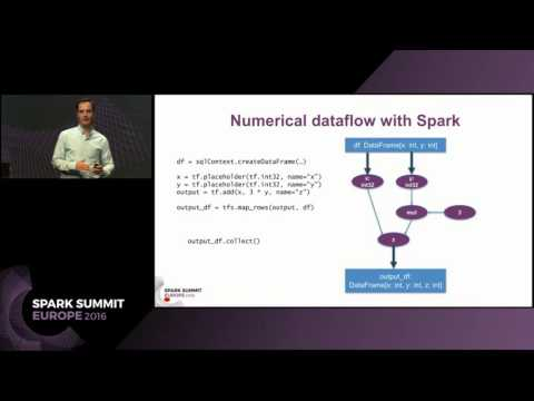 TensorFrames: Deep Learning with TensorFlow on Apache Spark (Tim Hunter)