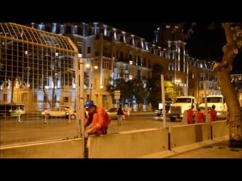 City Challenge Baku Azerbaijan 2012 , construction by MAKS Company