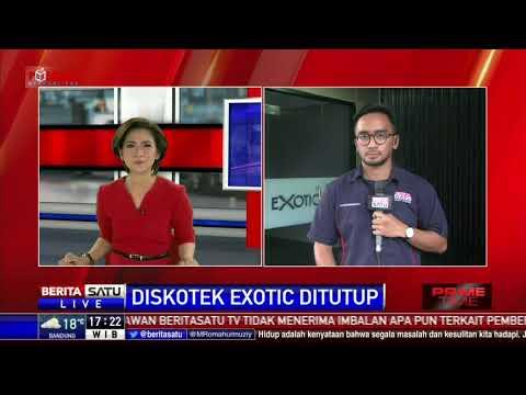 Diskotek Exotic dan Karaoke Sense Sudah Tutup