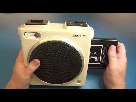 Portable 8 Track Player Teardown
