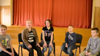 Занятие по мастерству актера и технике речи в театральной студии Арлекин