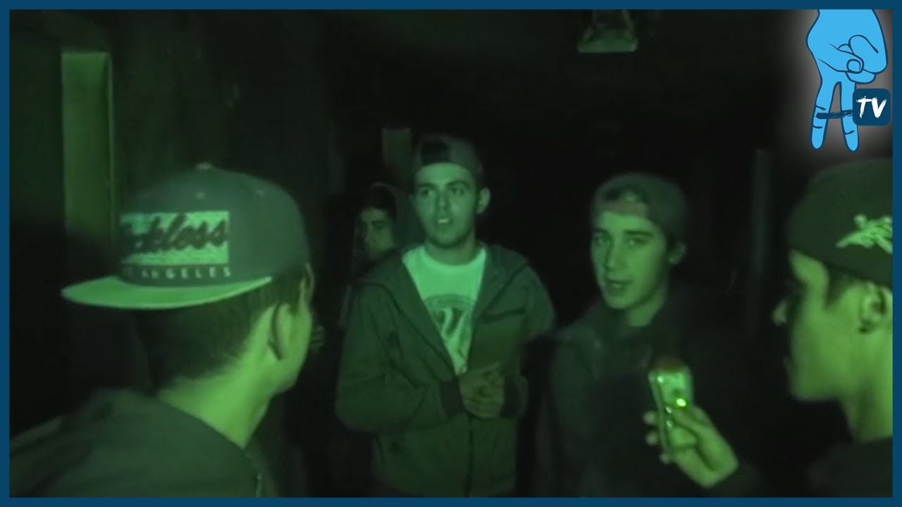 Janoskians Get Scared at a Haunted Hospital