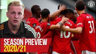 Season Preview | Donny Van De Beek, Bruno Fernandes | Manchester United