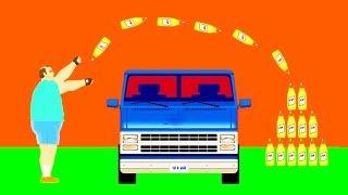 БУТЫЛКА ВОДЫ ЧЕЛЛЕНДЖ! СДЕЛАЛ ИДЕАЛЬНЫЙ ТРЮК БУТЫЛКОЙ ЧЕРЕЗ МАШИНУ В ХЭППИ ВИЛС ! (Happy Wheels)