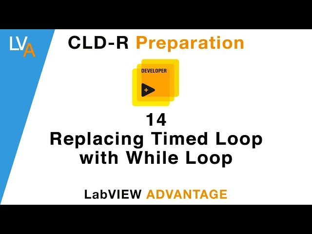 LabVIEW CLD R 39 Feedback with Delay LabVIEW Training