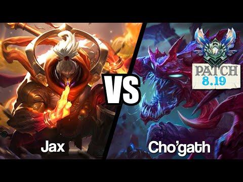 Vidéo d'Alderiate : [FR] JAX VS CHOGATH - UN STUFF TEAMFIGHT - 8.19 - DIAMANT 1