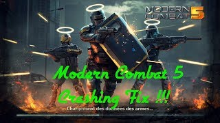 How to fix Modern combat 5 crashing at start up and play (PC) windows 10